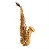 John Packer Sopraan Saxofoon JP043CG Gebogen Model - Uitvoering: Goudlak