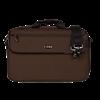 LX308PICCCH ProTec Lux PRO PAC Messenger Case Dwarsfluit & Piccolo - Chocolade