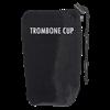 A107 ProTec Trombone Cup Mute Sock - Zwart