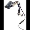 K&M 12250-013-55 Lamp Muziekstaander met klem - netstroom