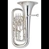 John Packer Euphonium  JP374S Sterling met Trigger  - Uitvoering: Verzilverd