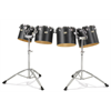 Majestic Concert Toms Set 10'/12'/13'/14' + Stand