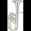 Tenor Horn Yamaha Custom NEO YAH-803S  - Uitvoering: Verzilverd
