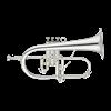 John Packer Flugel Horn JP275SWS - Uitvoering: Verzilverd