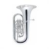 Besson Tuba Eb International  - Uitvoering: Verzilverd