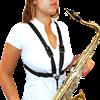 BG France Harnas Saxofoon Vrouw ML S41-M Metalen open haak