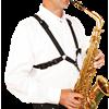 BG France Harnas Saxofoon Man XL S43-MSH Metalen Snaphook